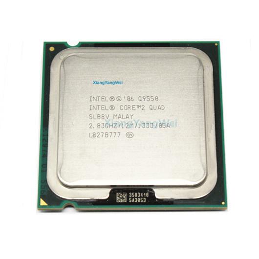Tested Intel Core 2 Quad Q9550 Processor 2.83GHz FSB 1333 Desktop LGA 775 CPU