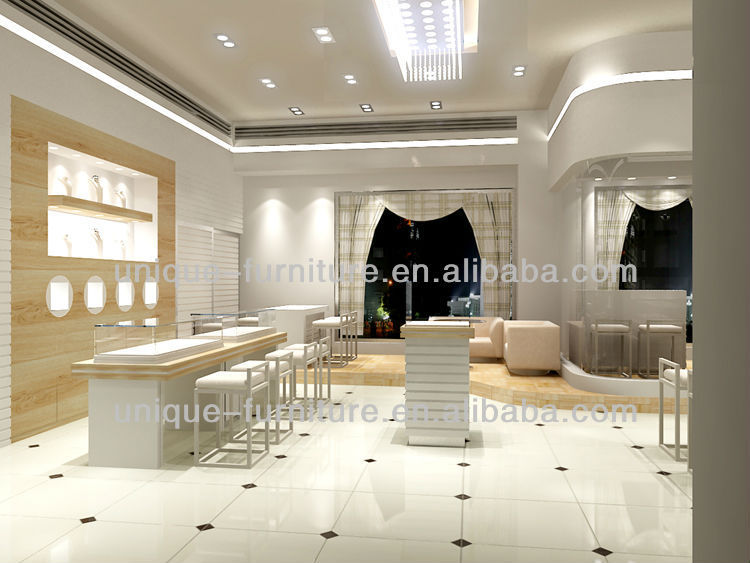 Wonderful Jewellery Showroom Interior DesignJewellery Showroom