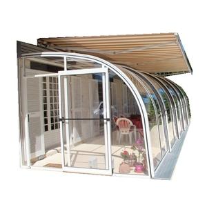 Customized Arched Aluminium Alloy used lowes sunroom