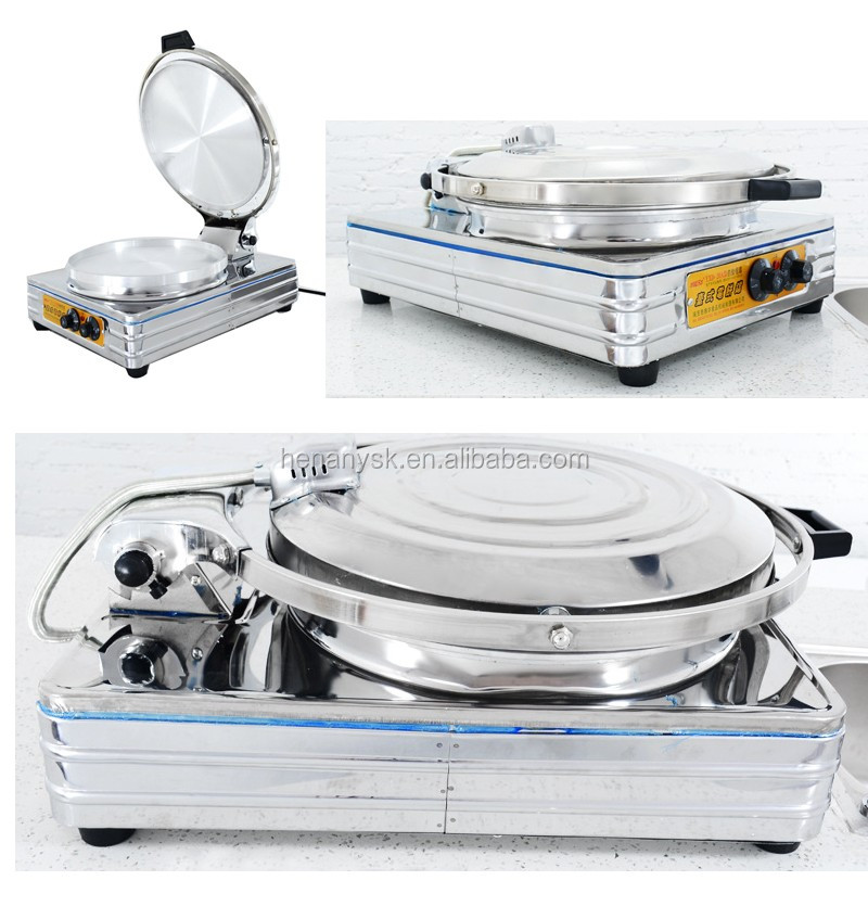 Electric Baking Frying Pan Pancake Machine Business Desktop Cake Pancake Bake Pie Oven Thousand Layer Bread Machine