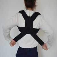 Factory custom service Adjustable Therapy Posture Corrector Support Body Shoulder Back Posture Strap