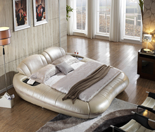 modern bedroom furniture leather bed bett