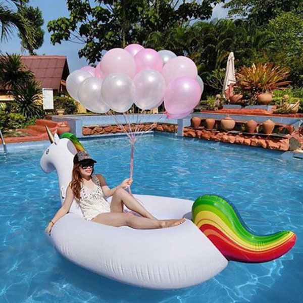 neue design einhorn pool float riesigen aufblasbaren einhorn wasservergn gungsanlage produkt id. Black Bedroom Furniture Sets. Home Design Ideas