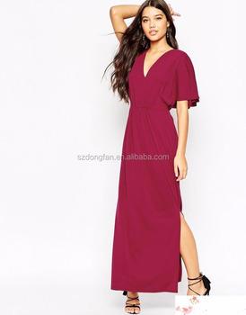 2683a78e3e9 2016 сексуальные спинку Красного женские длинные наряды платье турецкие  вечерние платья Новые Длинные вечерние платья