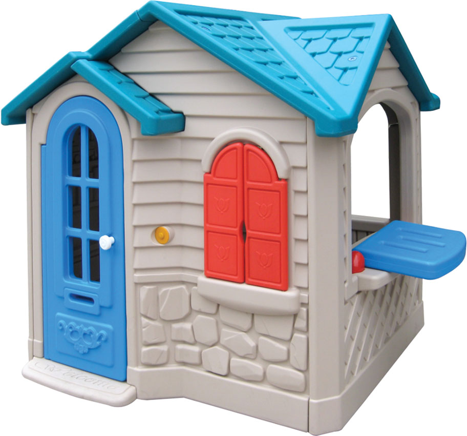 China Guangzhou Kids Outdoor Playhouse For Cute Children Toy House Kindergarten Qx 158e