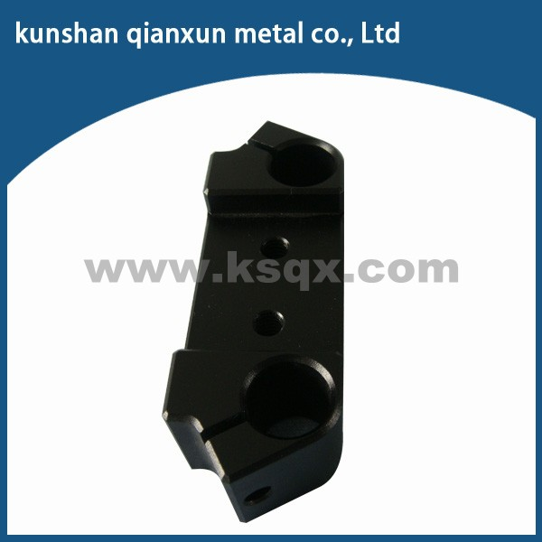 Raw material 6103 aluminum anodizing cnc milling parts in mechanical fabrication