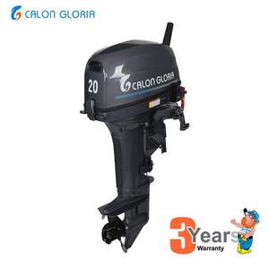 Calon 2 stroke 20hp outboard motor comparing with 18hp for shipping application
