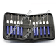 12pcs Lock Pick Set Plane Electronic Key Lock Picking Tools Quick Lock Opener Tools