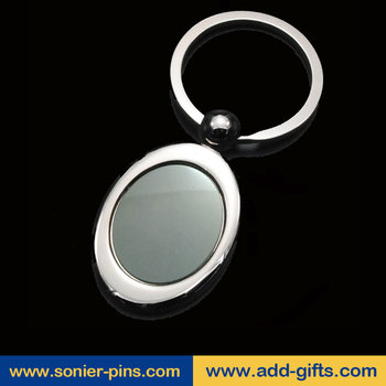 blank keychain for wholesale custom keyring black metal keyring in Key Chains
