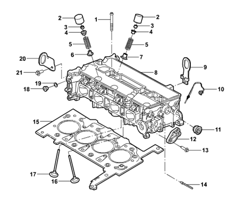 Genuine Engine Cover For Ford Transit 1s7g 7081 Ab