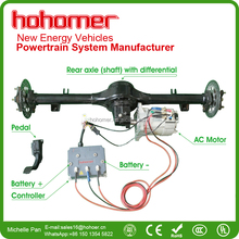 Hohomer brushless ac induction motor and controller electric car conversion kits 3kw, 5kw, 7.5kw, 10kw, 15kw, 20kw, 30kw