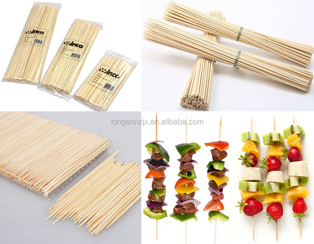 Best Price Wooden Skewer Sticks Making BBQ Stick Machine Bamboo Stick Making Machine for Sale