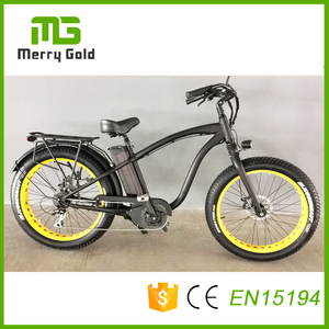 Fat tire mid drive motor ebikes hummer MTB mountain e bikes 48v 1000w e-bicycle
