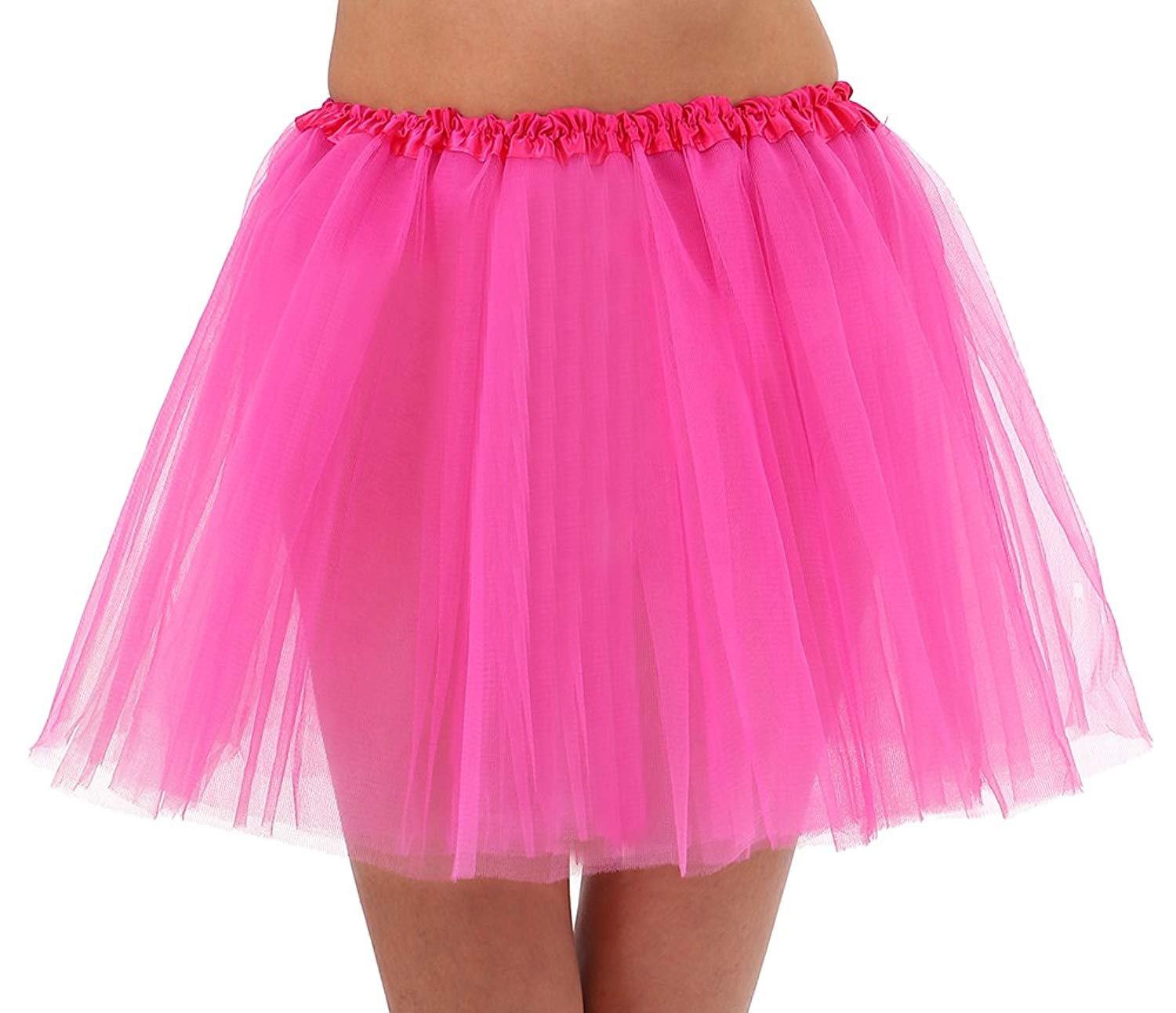 4ba32a8e6e Get Quotations · Tutu Mini Skirt Tulle Dress for Adult Women Wear Polyester  Bubble Ballerina Skirt Underwear for Party