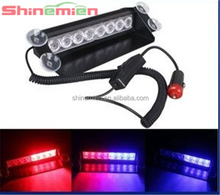 red and blue Led security car strobe light 8W hotsell