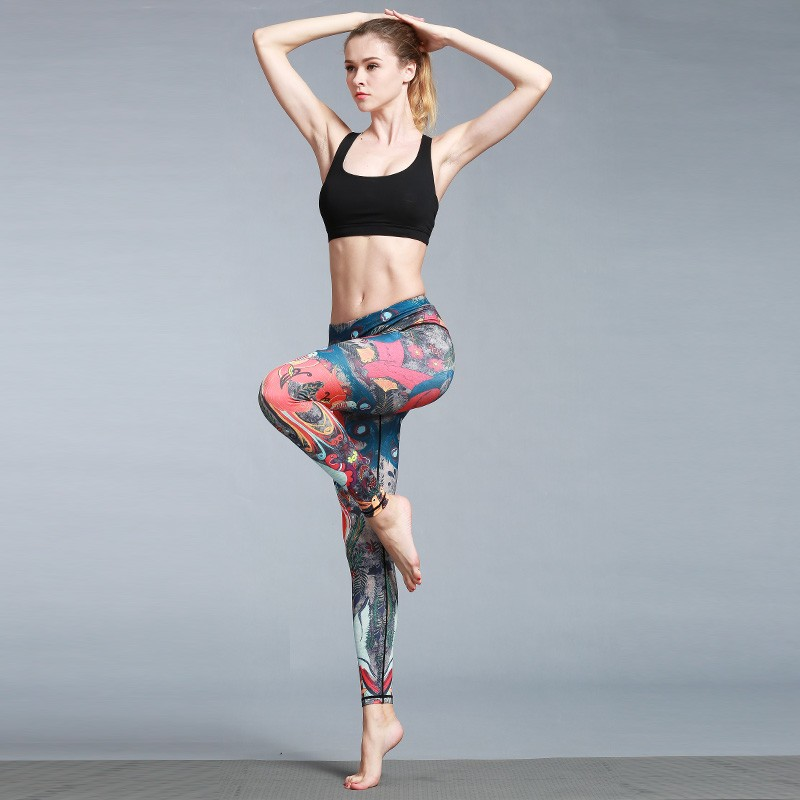 82fd96e12 Wholesale bodybuilding gym wear athletic wear, women fitness leggings,  custom sublimation colorful yoga pants