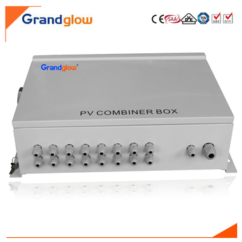 8 INLET 1 OUTLET SOLAR PANEL JUNCTION BOX IP65 PV STRING COMBINER BOX