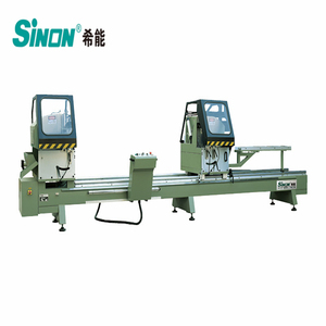 professional double head alu alloy cutting machine LJZ2-500x4200