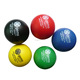 Customized Promotional PU Foam Stress Reliever Squeeze Toy Anti Stress Squishy Balls