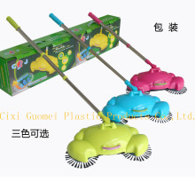 Floor Cleaner Magic Home Broom Sweeper Hand-propelled Push Crab Sweeper
