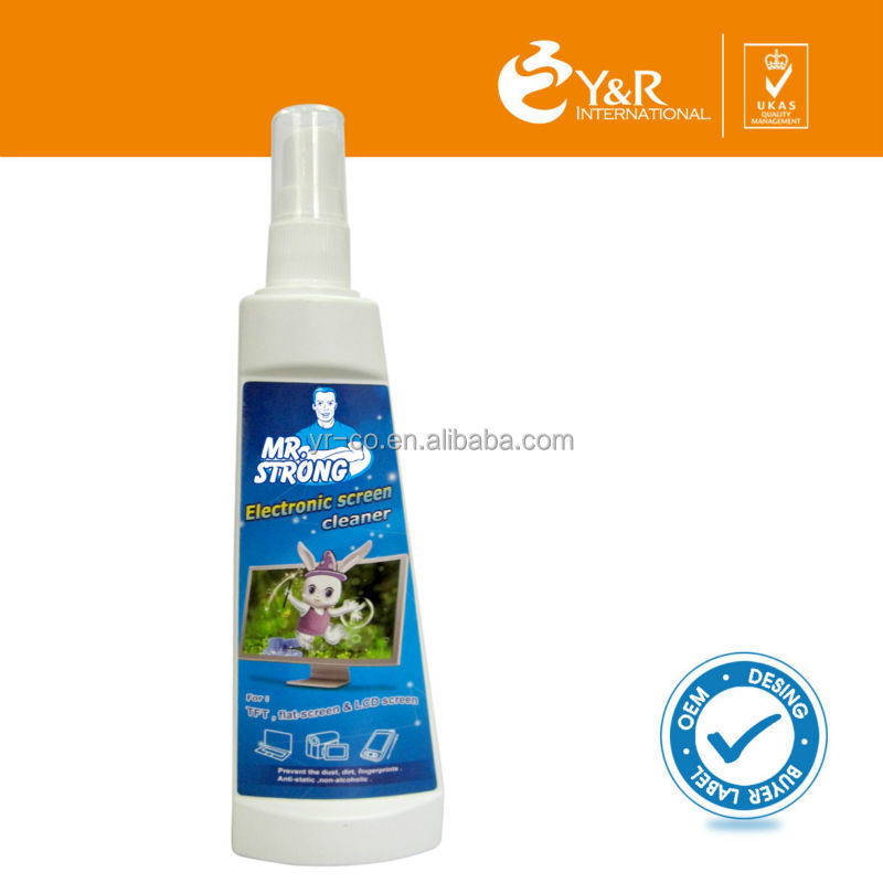 Electronic Laptop Spray screen cleaner factory