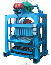 Small scale industry Youtube QT4-40 used manual cement block making machine for sale price in India
