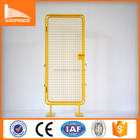 China supplier 2.1*1.1m yellow /grey powder coated road safety barrier /barrier gate