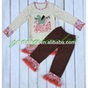 Fashion USA ruffle rainbow pumpkin cotton for Fall color me cotton fashion pants outfit