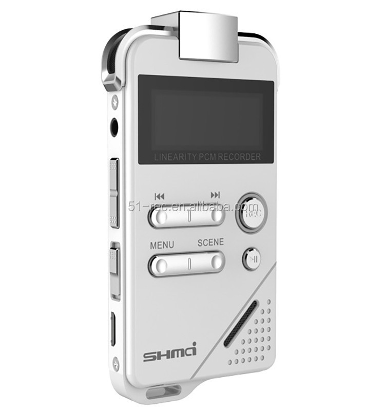 High fidelity opname noise aftrek digitale voice recorder