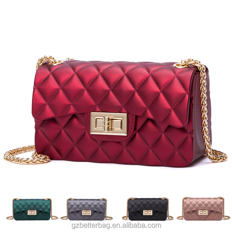 2017 New Fashion Silicone Beachkin Jelly Bag Colorful Crossbody Bags With Best Price Alibaba Whole China