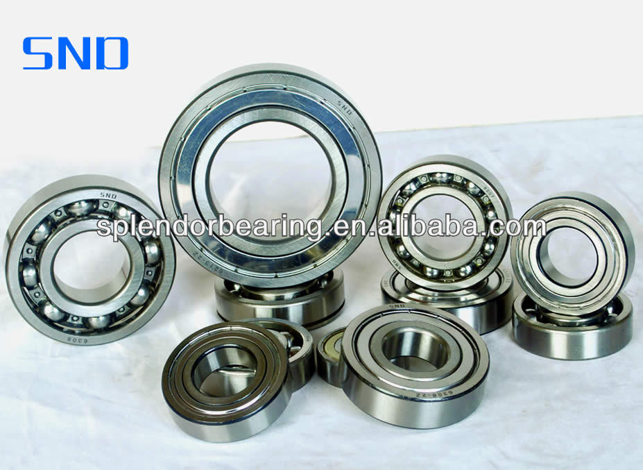 high speed bearing 6209 large stock stainless steel deep groove ball bearing for machine tools