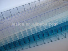 100% virgin polycarbonate multi-wall sheet/UV coat polycarbonate sheets