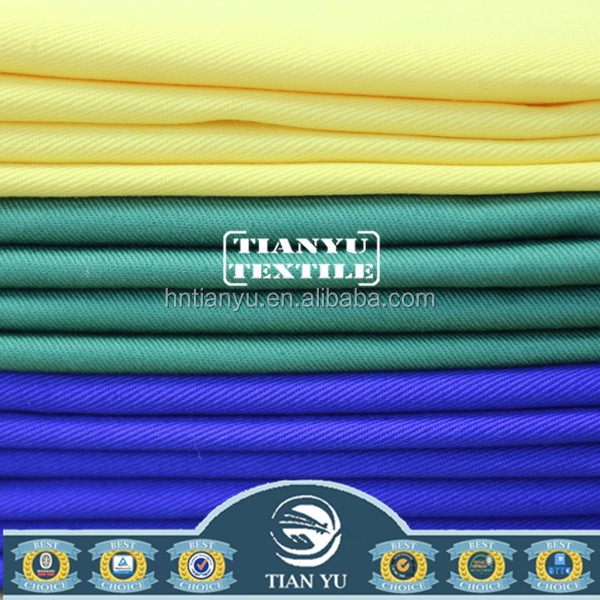 Woven 10*7 68*38 Thick Fabric Manufacturer Uniform Used Fabric for All Kinds of Work Cloth