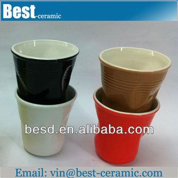 Colorful Cheap Creative Tall Paintable Ceramics Mug