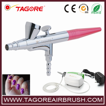 Makeup Air Brush Set Nail Art Spray Gun Buy Makeup Air Brush Set