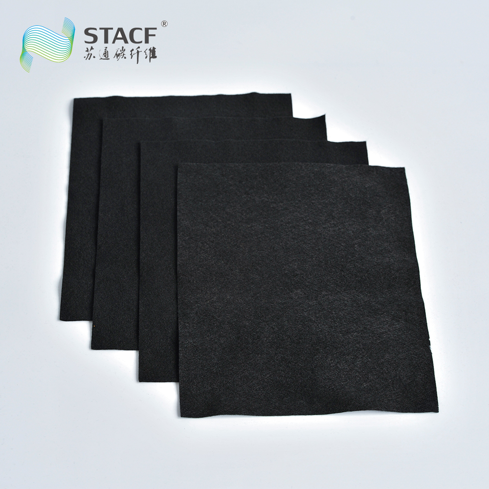High temperature insulation Activated carbon filter felt for water systems