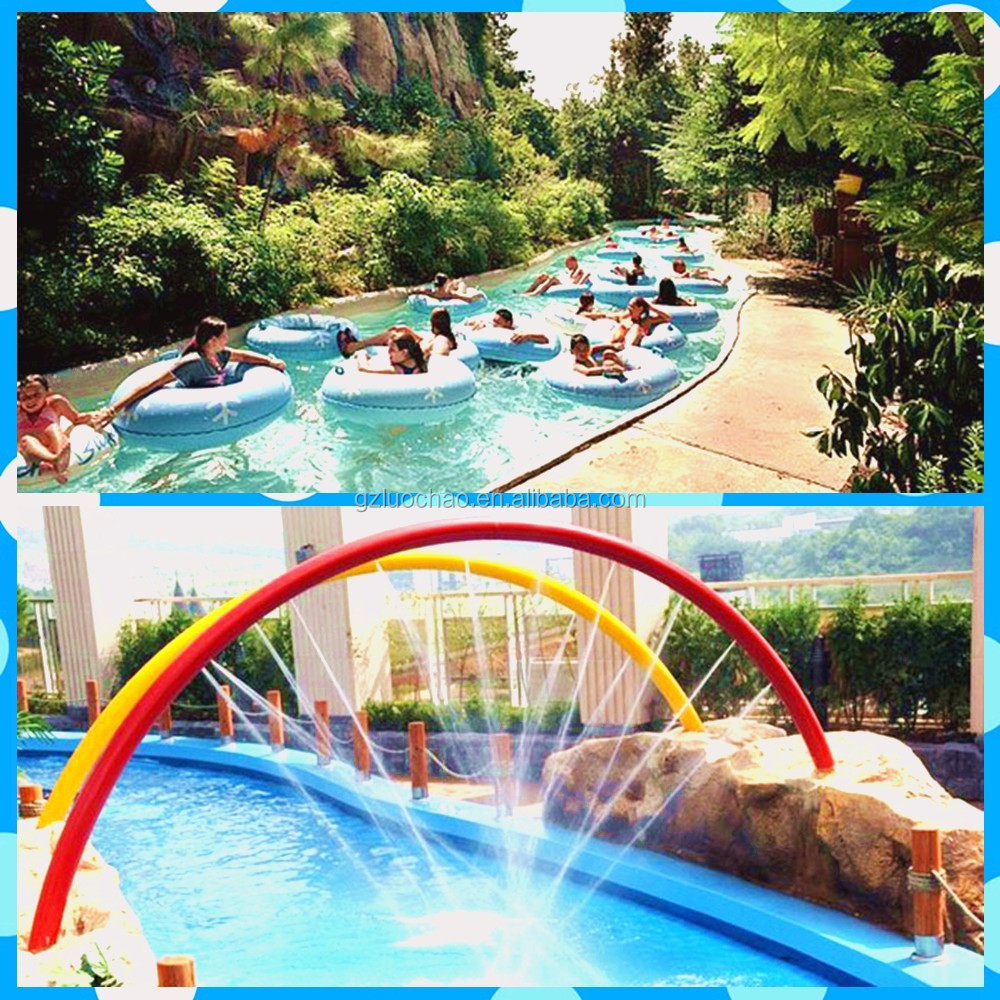 Customized Multi-function Water Play Lazy River for Water Park