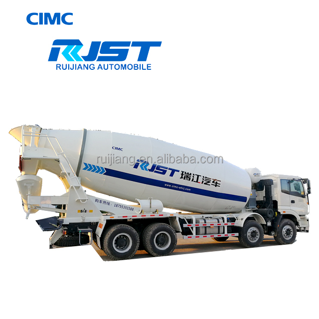 CIMC RJST 8m3 Construction Concrete Mixer Truck for Sale