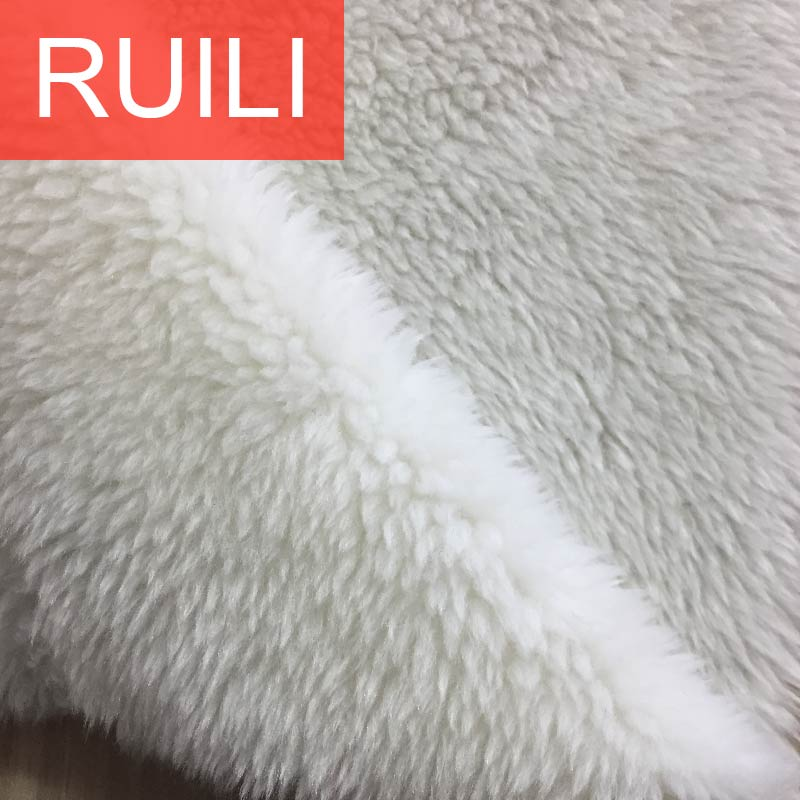 15mm hair length polyester acrylic artificial fake mink fur fabric