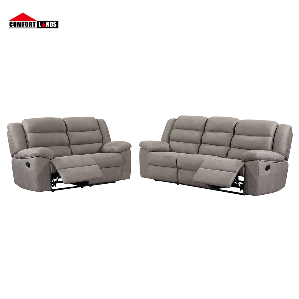 Wholesale fabric recliner sofa set modern living room furniture