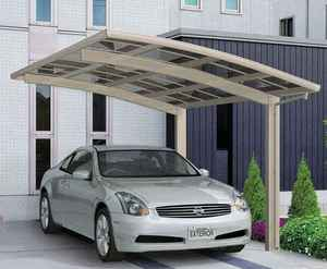 Half cassette sliding awning/steel patio awning with metal frame