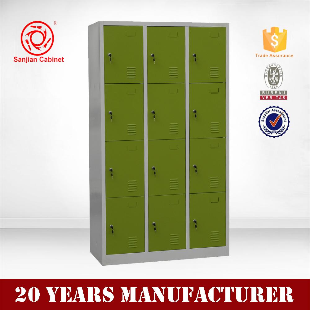 12 door storage wardrobe furniture steel locker camping for 12 door lockers