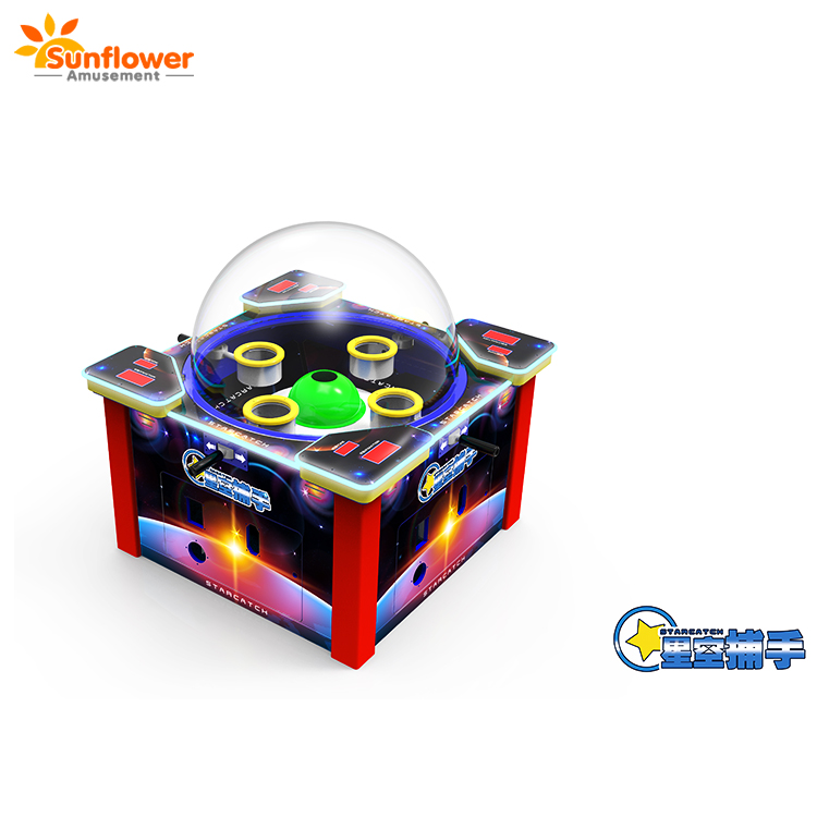 2018 Nieuwe arcade game machine start catcher 4 speler pingpong bal catcher game machine van Zonnebloem Amusement