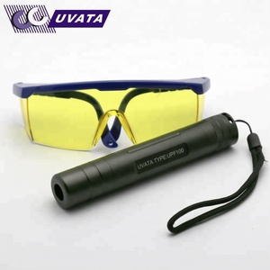2018 convenient 365nm 254nm uv led flashlight with various lens