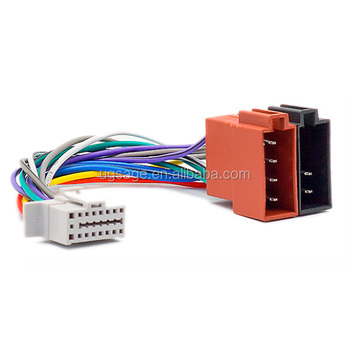 xtrons iso radio wire wiring harness adapter connector touch screen  xtrons iso radio wire wiring harness adapter connector touch screen car radio parts for panasonic