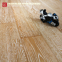 wire brushed white oak engineered timber wood flooring