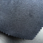 Micro suede backing black microfiber pu leather