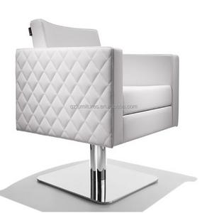 White color salon chair /barber salon chair prices QZ-F994M