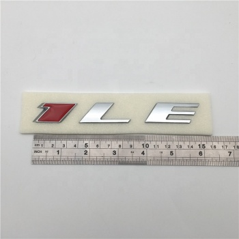 1LE Custom Chrome Car Emblem Badge Sticker For CAMARO EMBLEMS Fender1990's 2010 - 2019