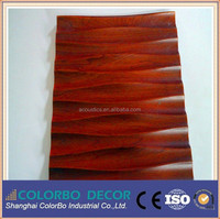 waterproof resturant wall coverings wooden leather 3d wall coverings